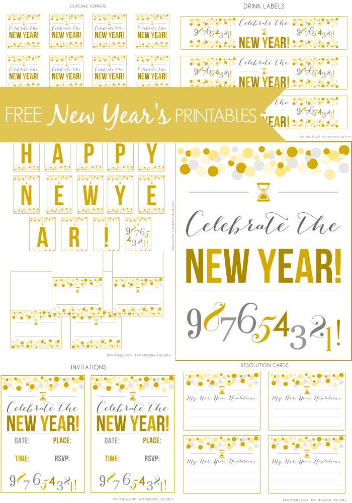 Magic image for new year's worksheets printable