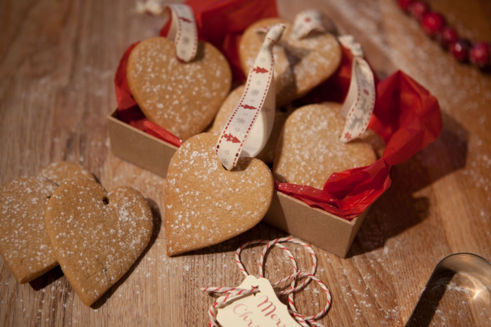 Christmas tree heart cookie ornament recipe catch my party
