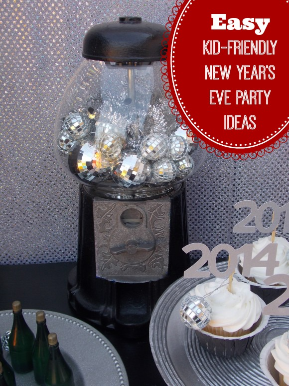 Easy kid friendly new year 39 s eve party ideas catch my party for New year eve party ideas
