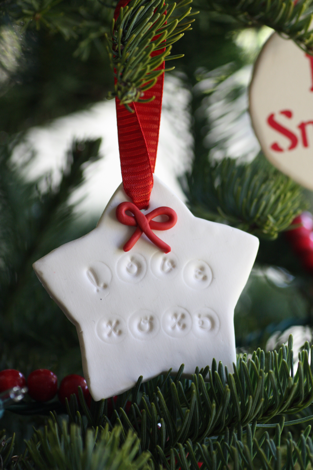 Polymer Clay Christmas Ornament Craft | Catch My Party