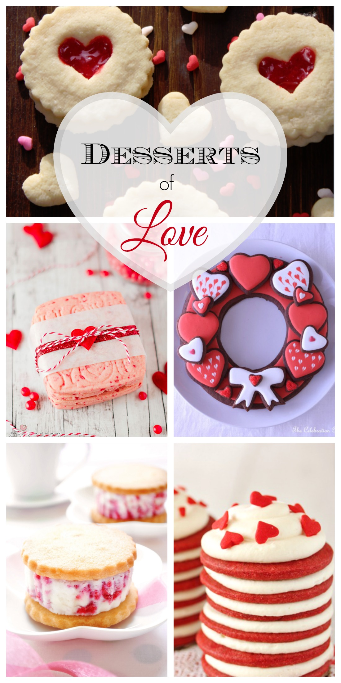 14 desserts that will make you fall in love on valentine 39 s day catch my party - Desserts valentines day ...