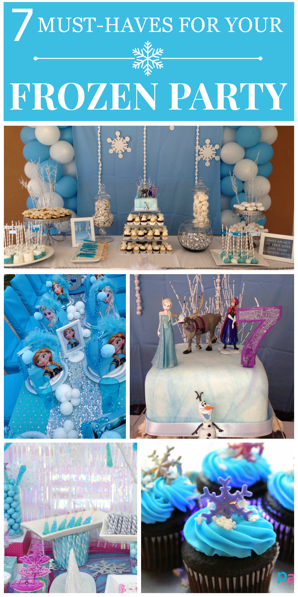7 Things You Must Have At Your Frozen Party Catch My Party