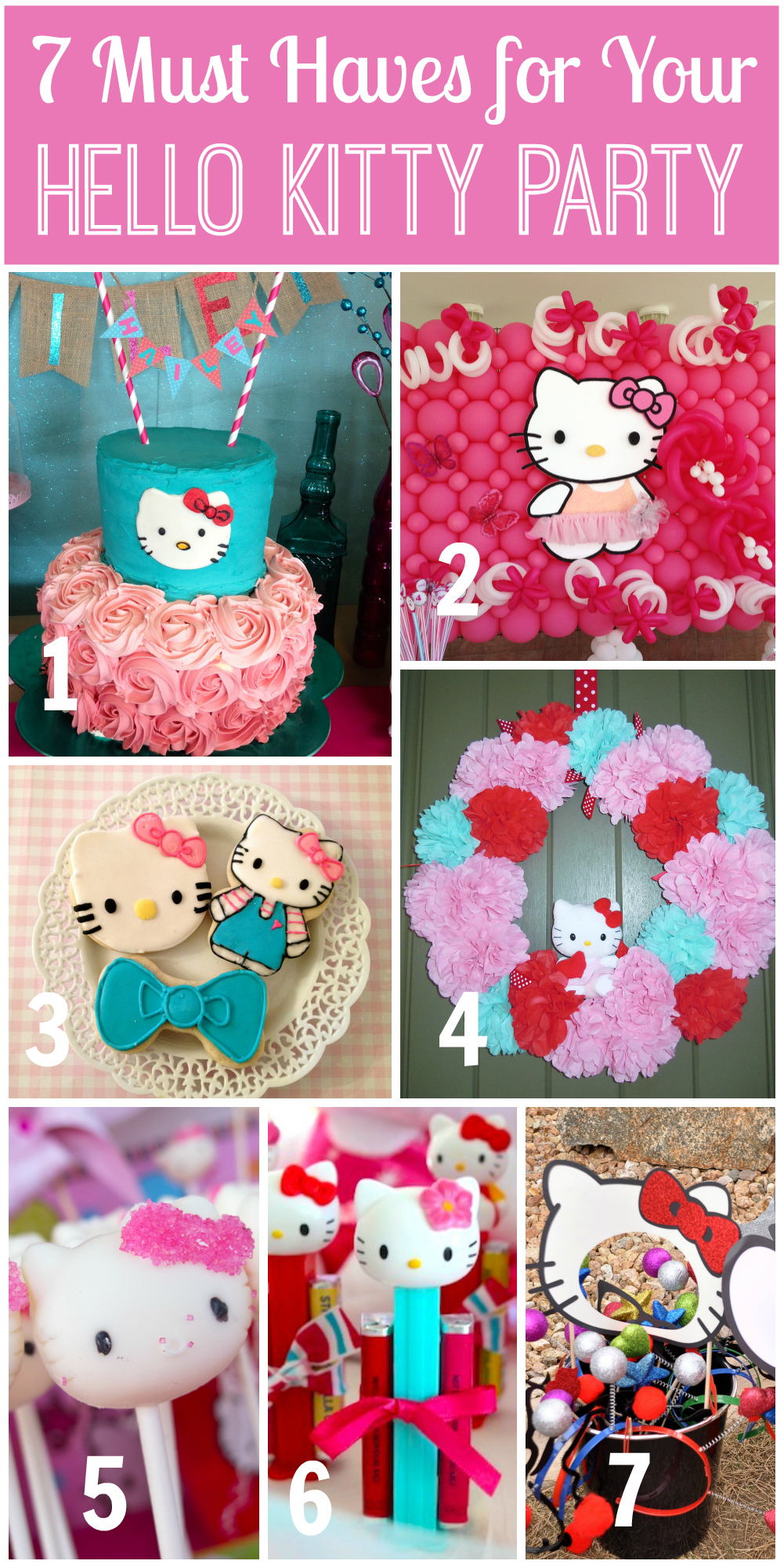 Birthday Party Tema Hello Kitty