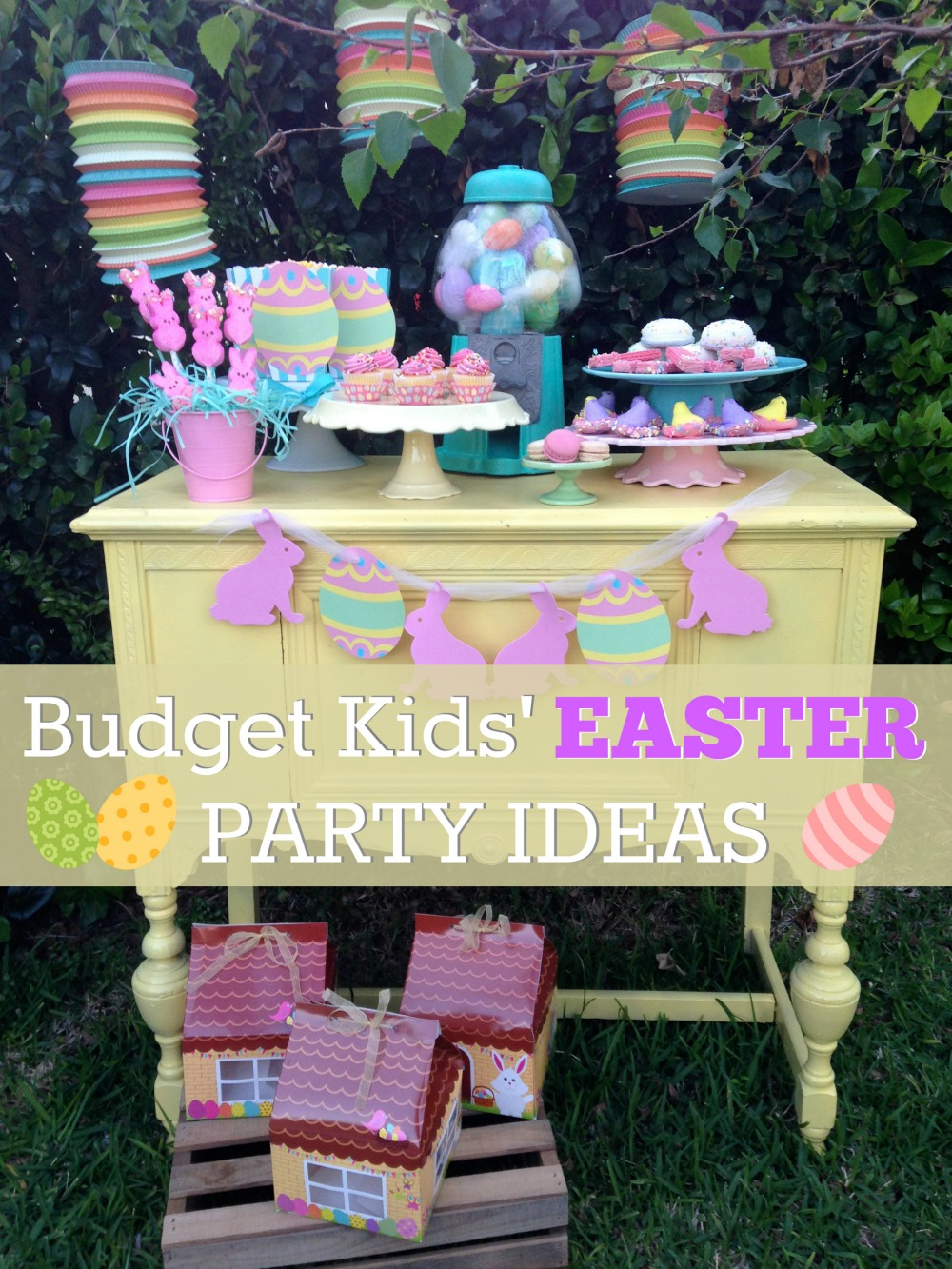 Budget Friendly Kids Easter Dessert Table Ideas