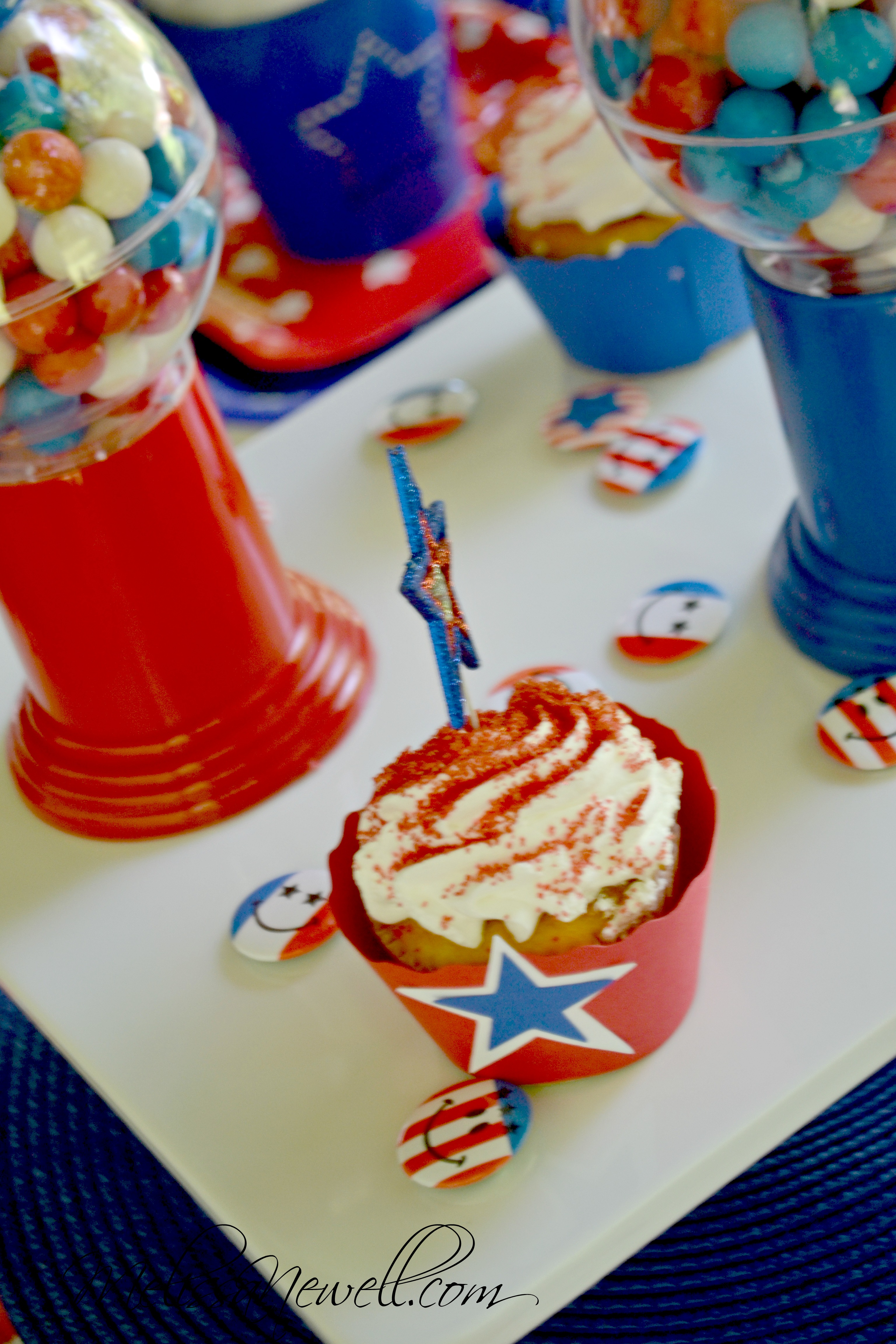 Adult and kid july 4th tablescape ideas catch my party for 4th of july party ideas for adults