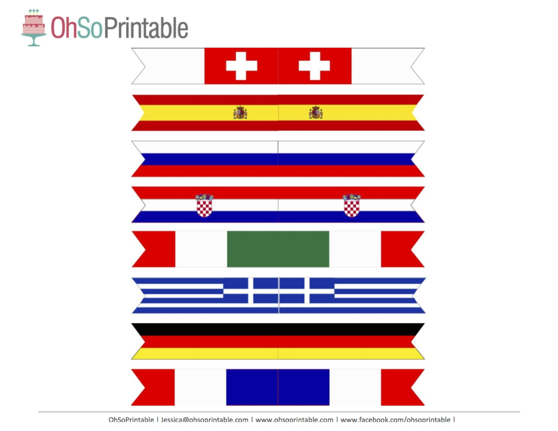 It's just an image of Delicate Flags of the World Printable