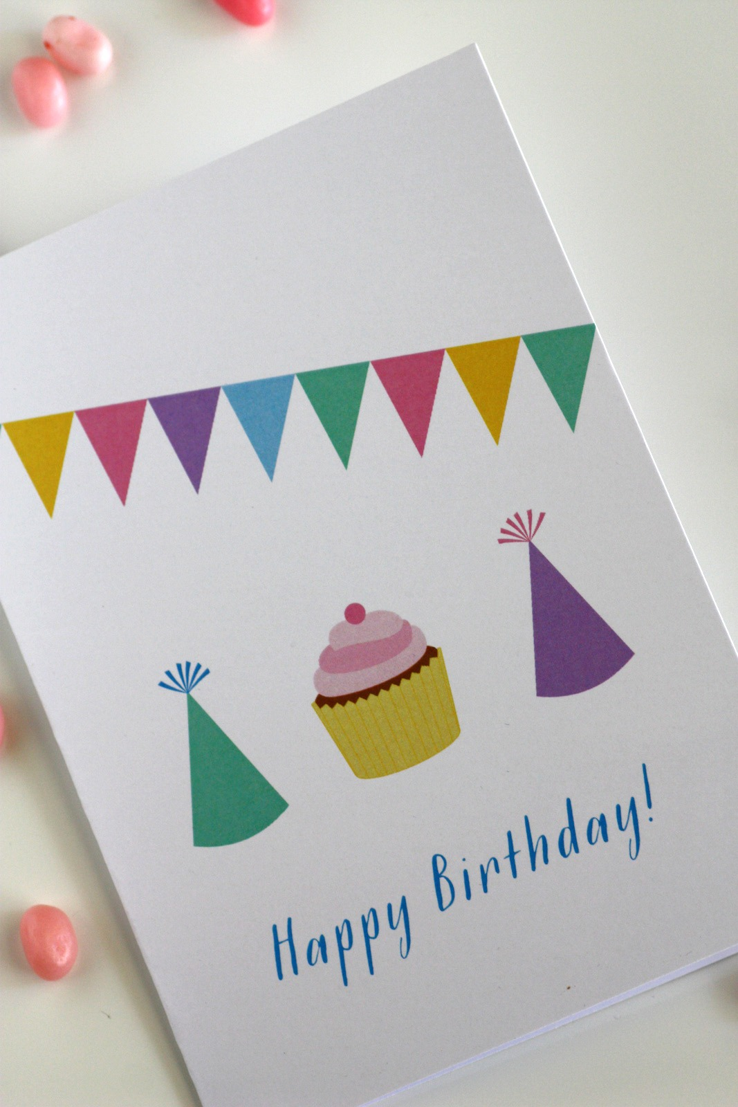 Free Printable Blank Birthday Cards | Catch My Party