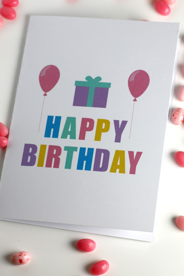 free printable blank birthday cards  catch my party, Birthday card