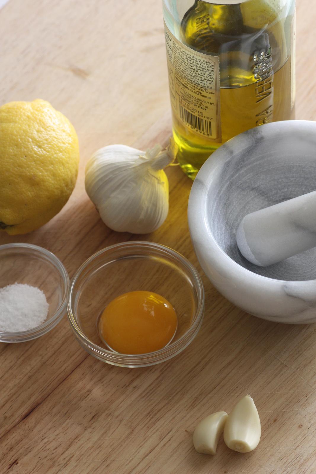 Lemon Garlic Aioli Recipe | Catch My Party