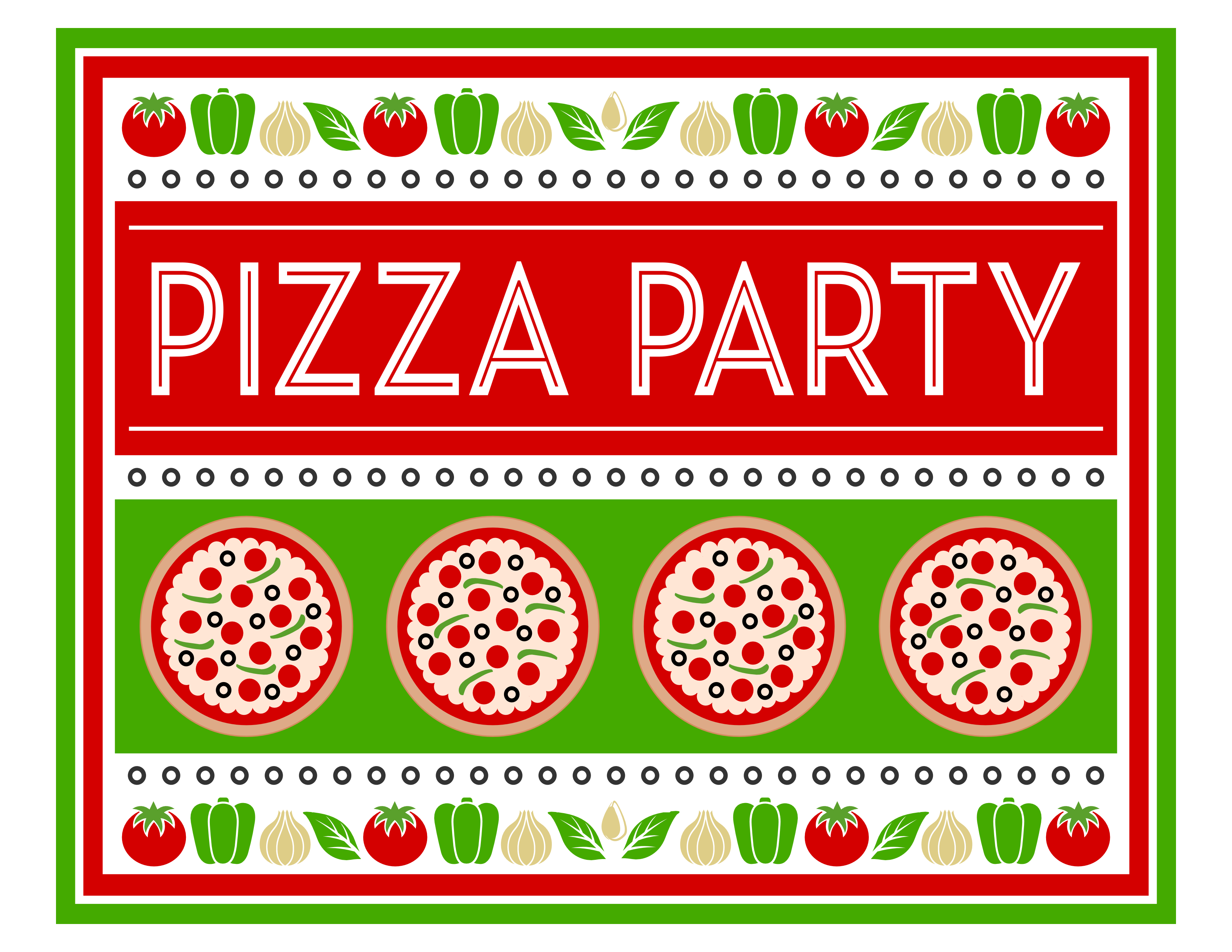 free pizza party printables from printabelle catch my party you are awesome clip art dog you are awesome clip art free images