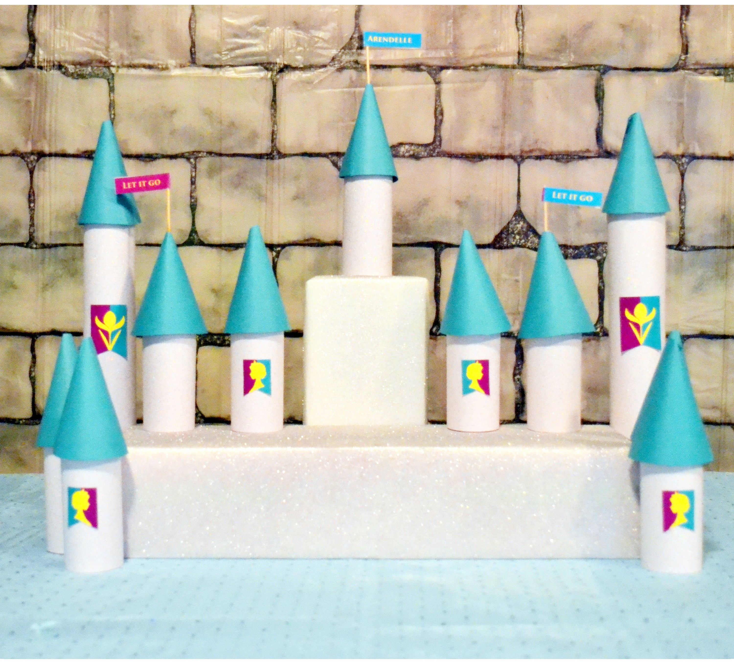 Arendelle Castle Cupcake Holder Diy Catch My Party