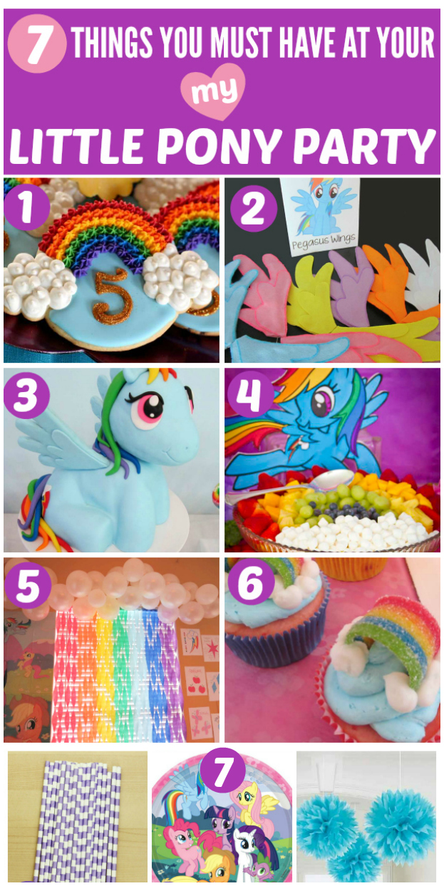 Pin It  sc 1 st  Catch My Party & My Little Pony Party Ideas - 7 Must-Haves! | Catch My Party