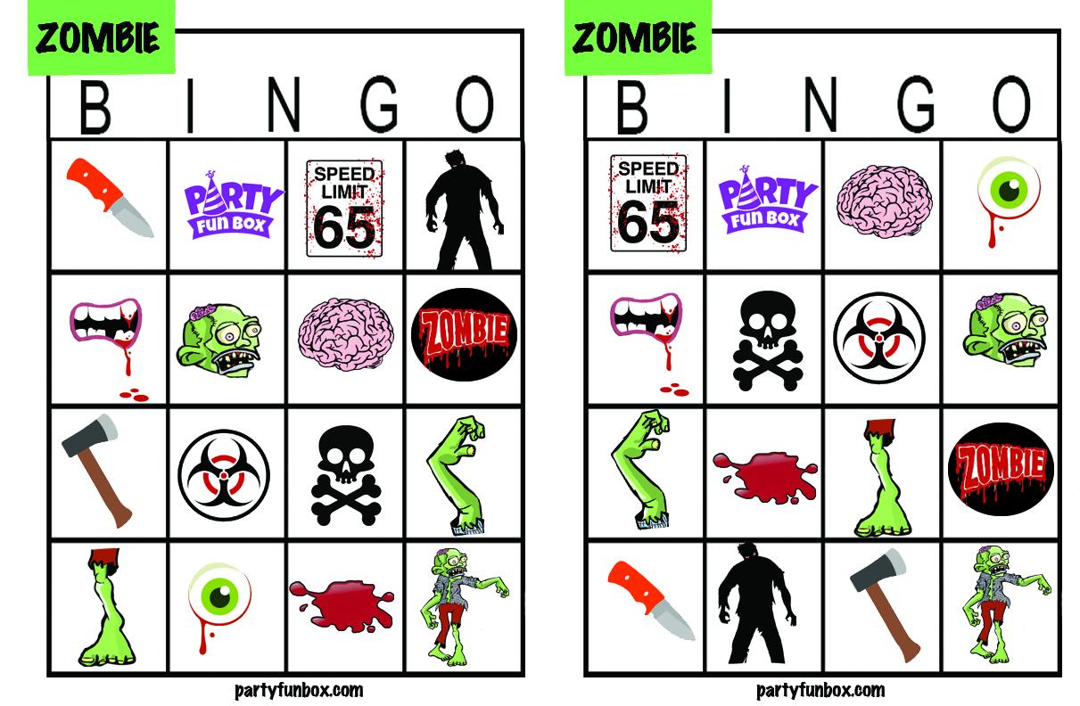 Printable Zombies