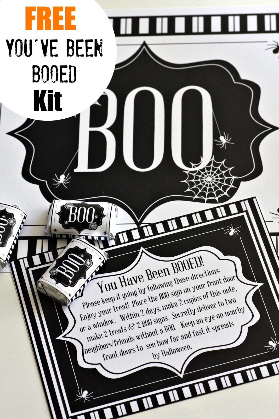 picture regarding Booed Signs Printable identify Youve Been Booed Cost-free Printable Package Capture My Occasion