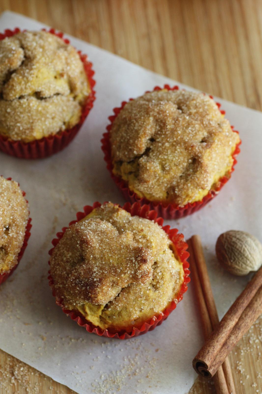 Cinnamon Pumpkin Spice Muffin Recipe Catch My Party
