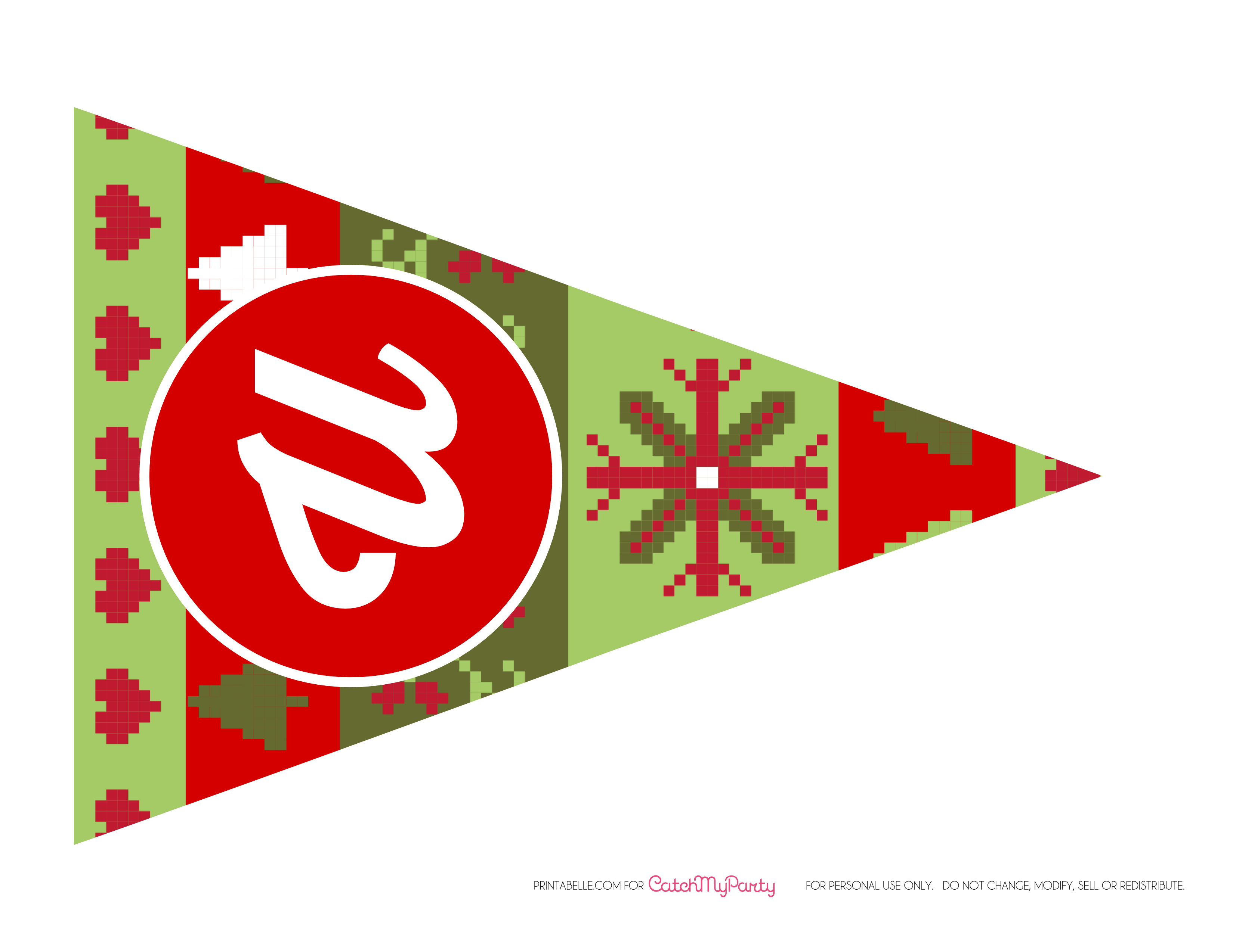 Banner: Free Ugly Sweater Party Printables