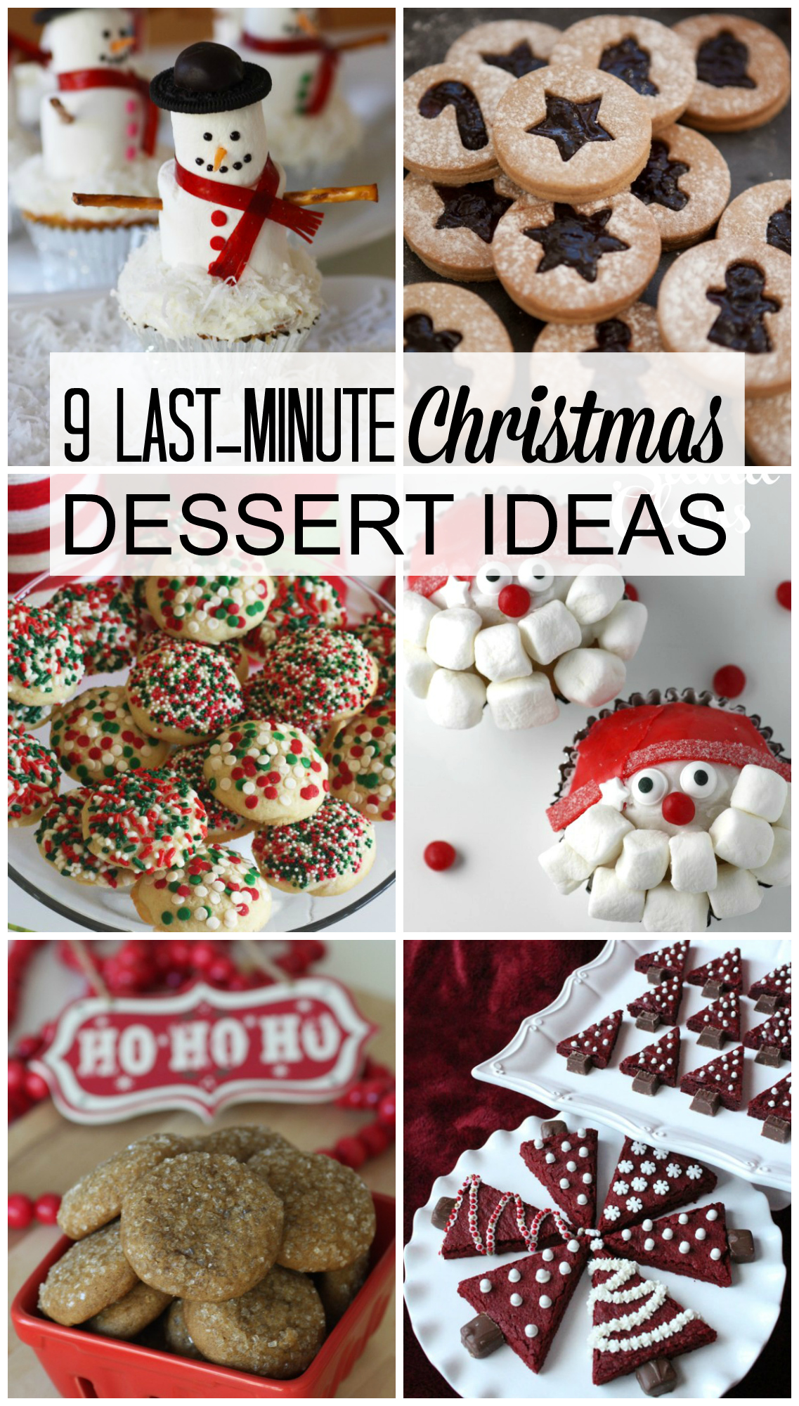 9 last minute christmas dessert ideas catch my party for Last minute party ideas