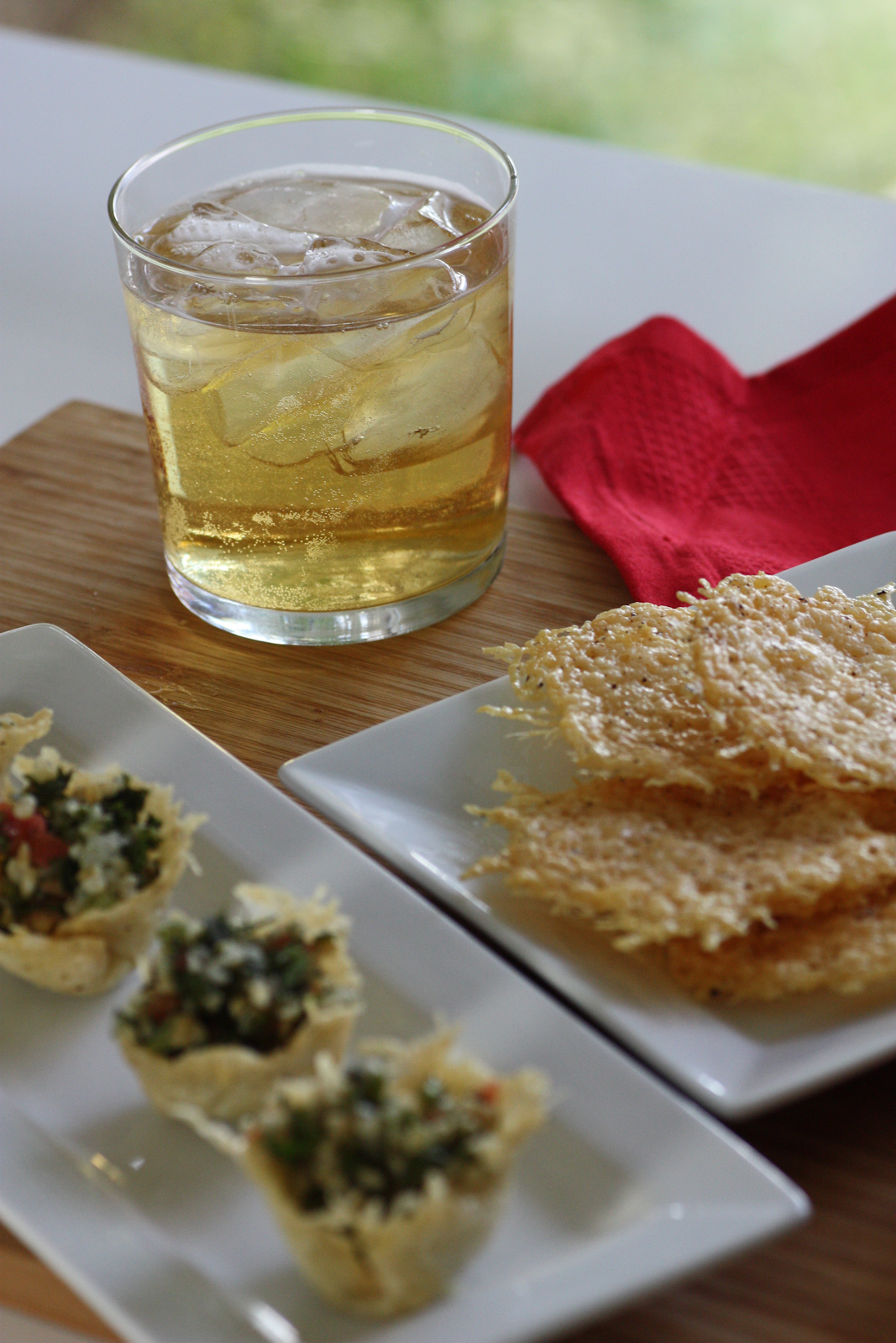 Plus, the parmesan crisps are one of the easiest dishes you will ever ...