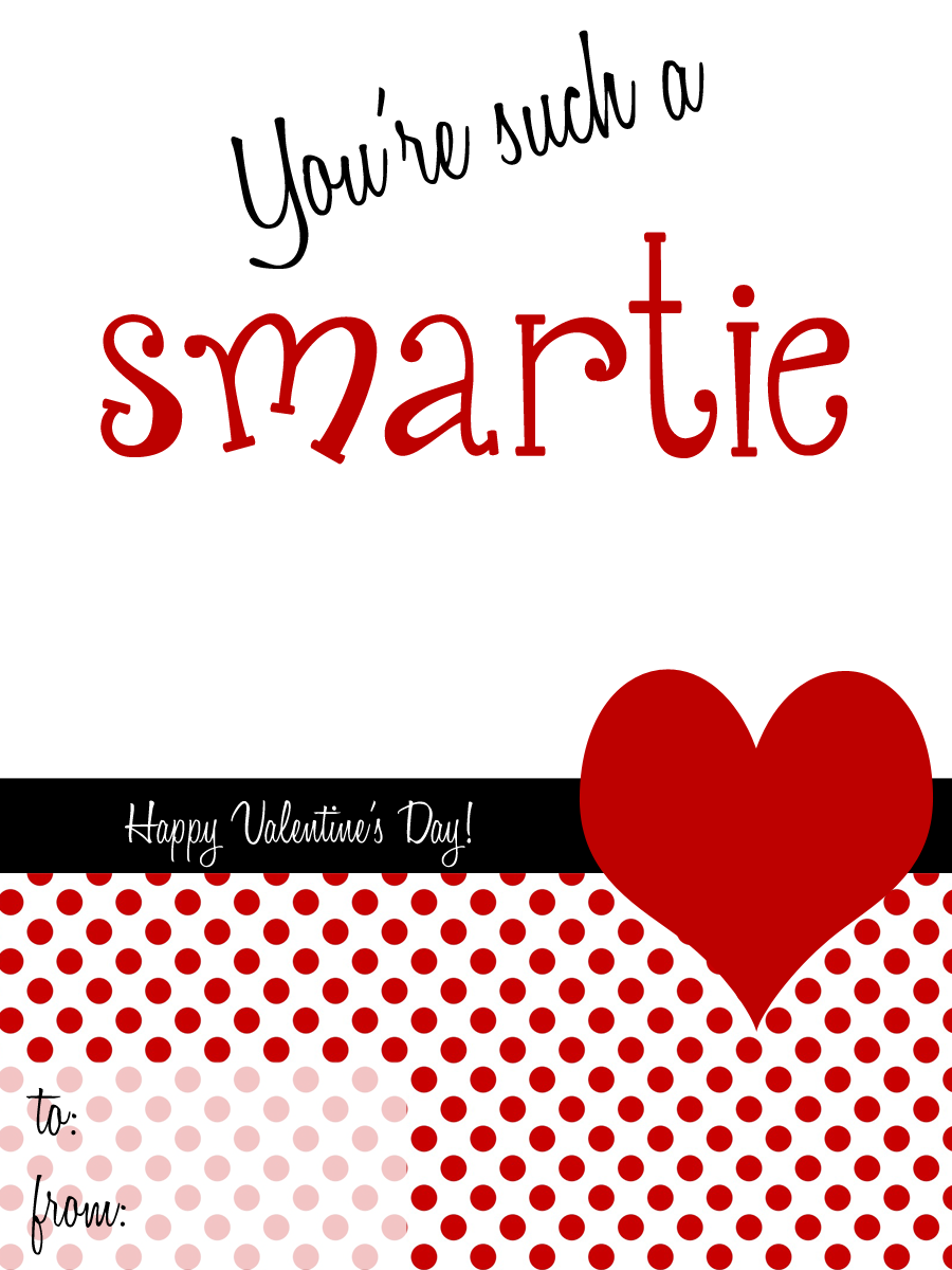 Free Printable Classroom Valentines | Catch My Party