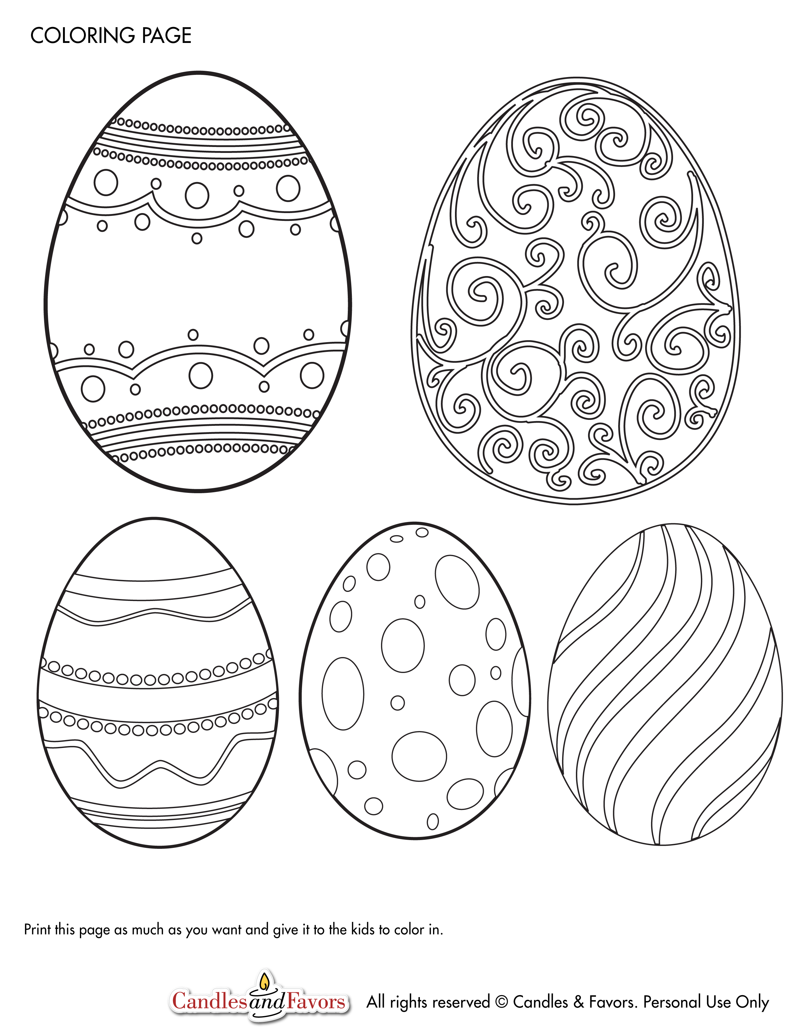Free Printables for Easter | Catch My Party