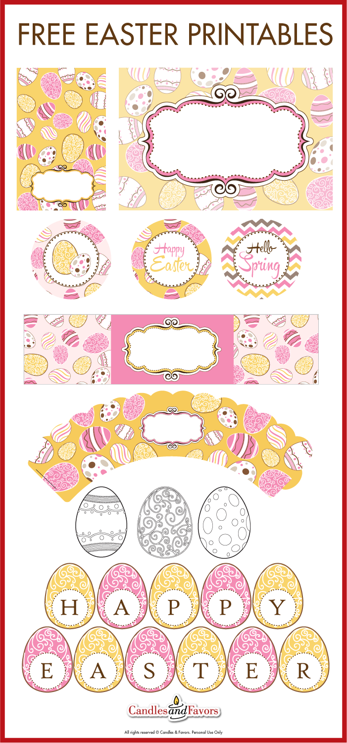 This is a picture of Sly Easter Printables Free