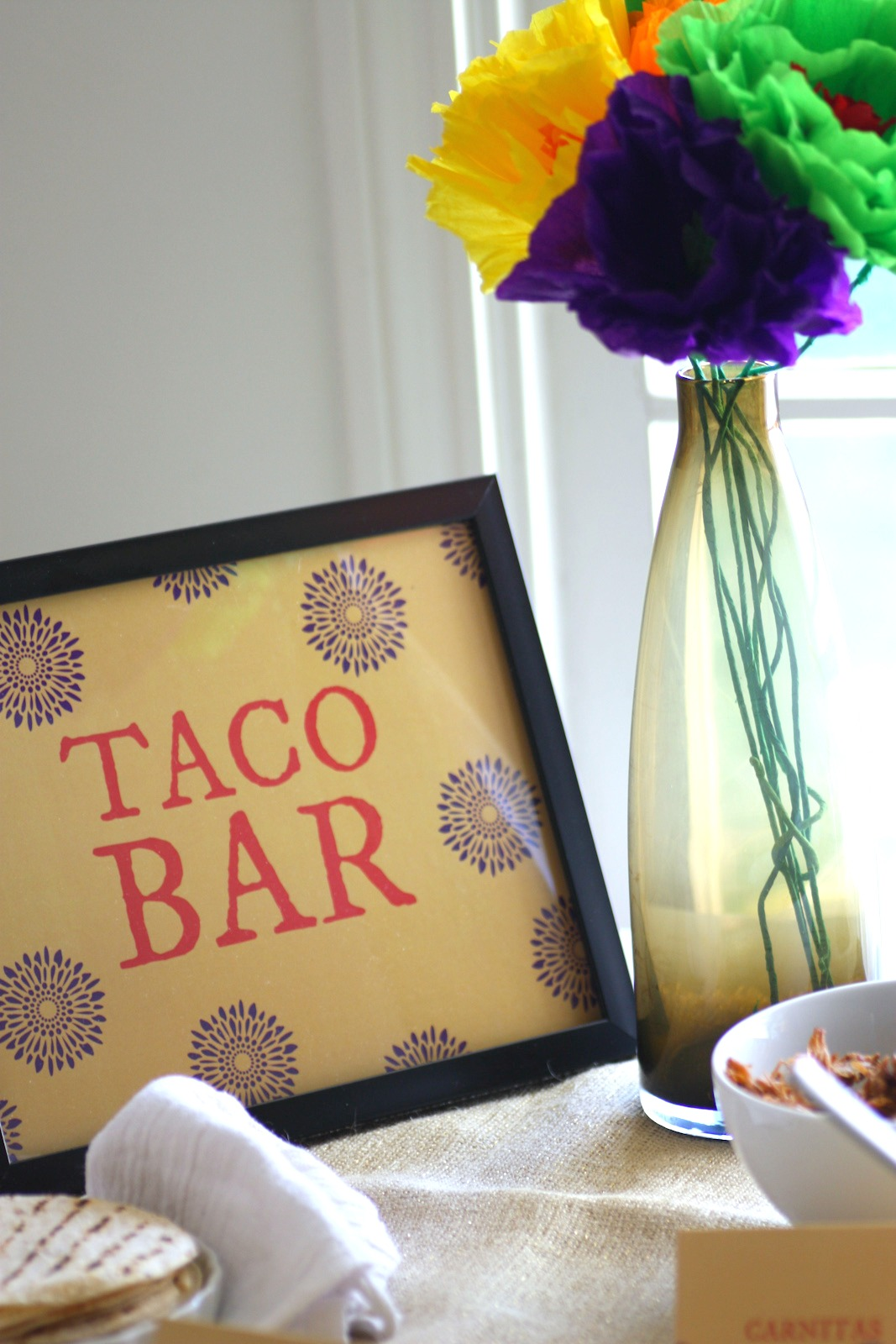 How To Create A Taco Bar + Free Taco Bar Printables ...
