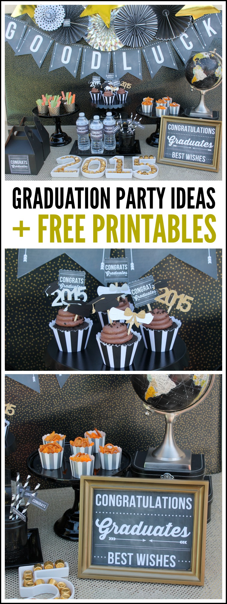 It is a graphic of Gratifying Printable Graduation Decorations