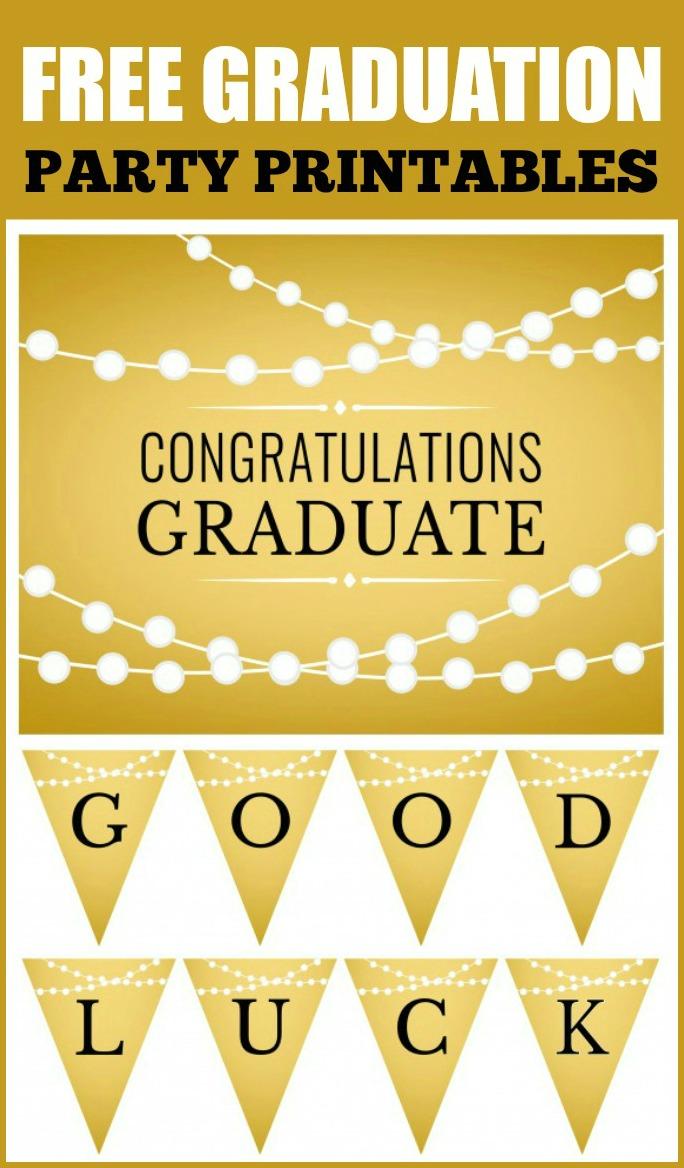 Crush image for free graduation printable