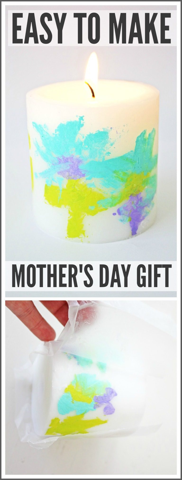 Easy mother 39 s day gift for your kids to make catch my party for Simple gifts to make