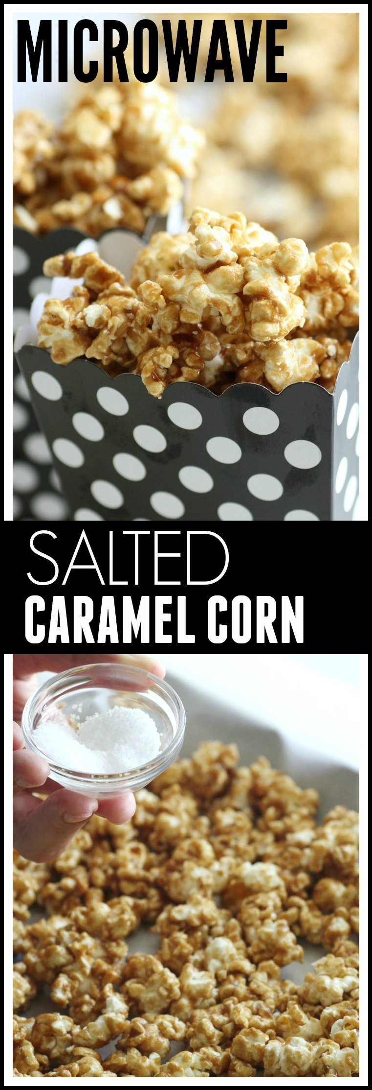 Easy Microwave Caramel Corn Recipe | CatchMyParty.com