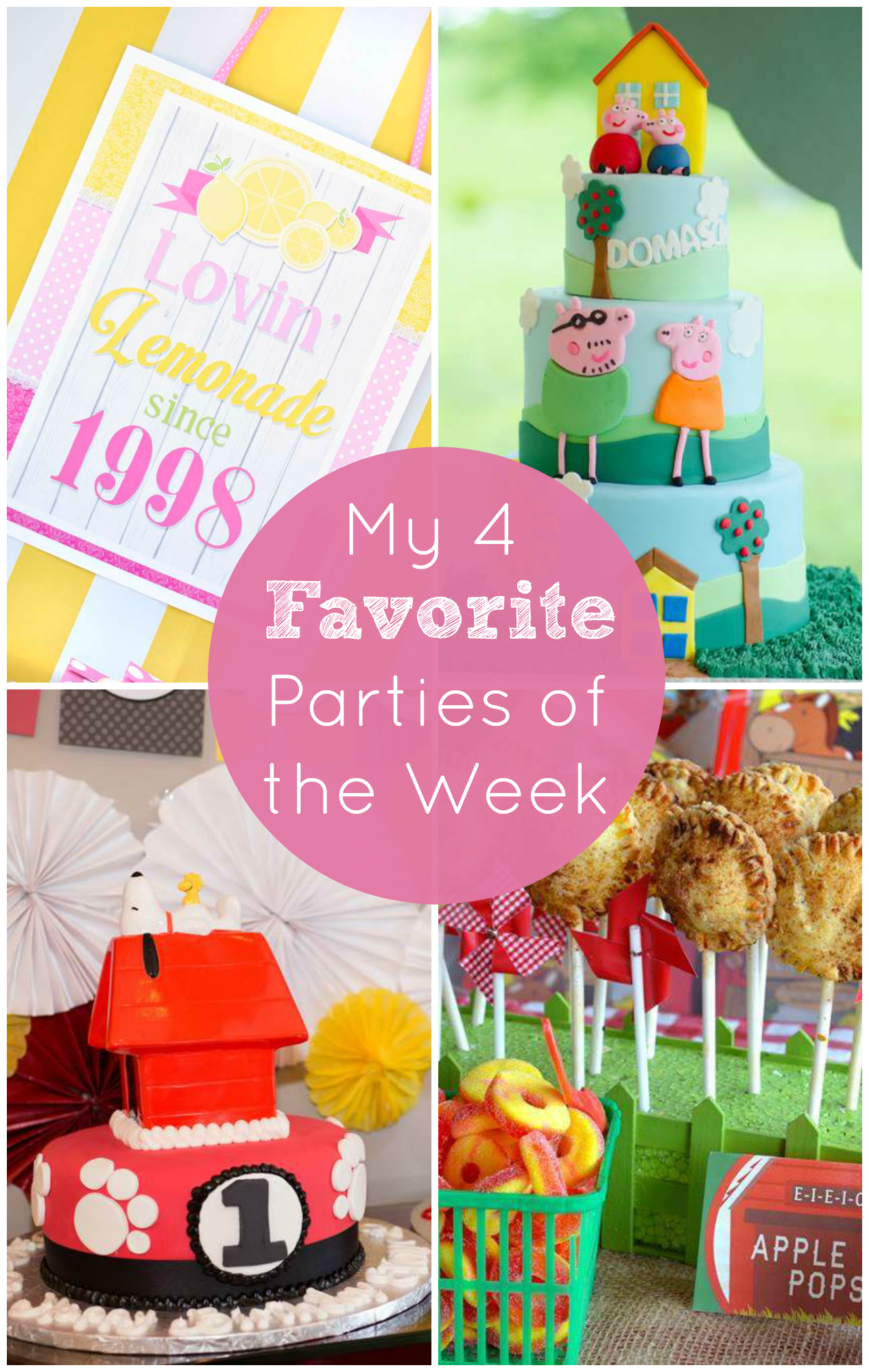 Check Out This Pink Lemonade Party and My Other Favorites ...