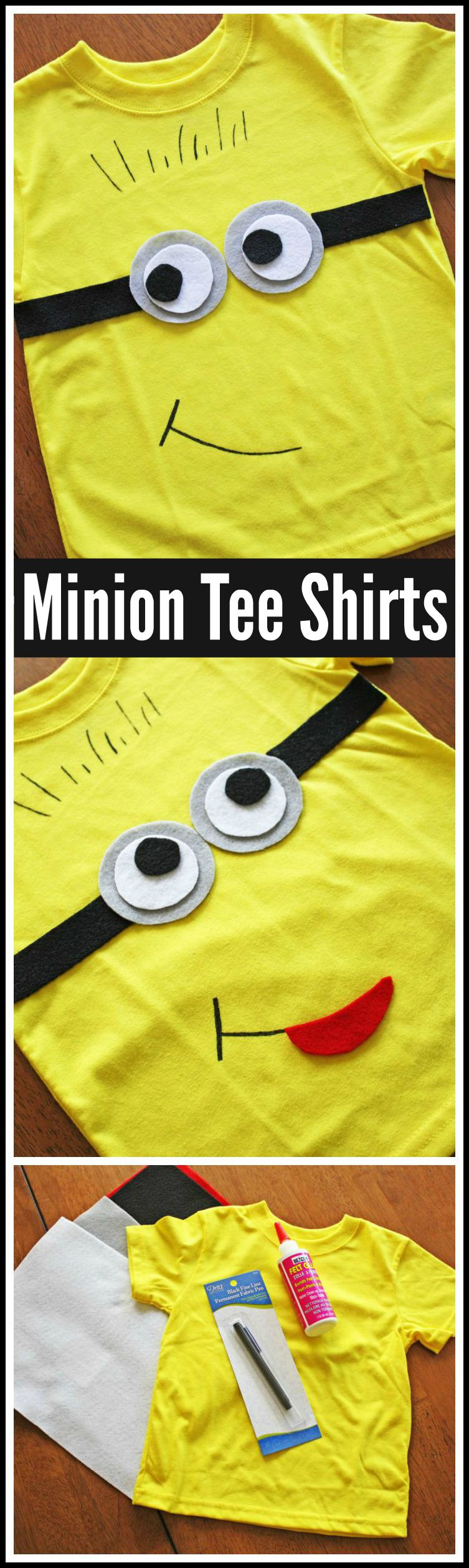 How Cute Is This Minion Tee Shirt? | Catch My Party