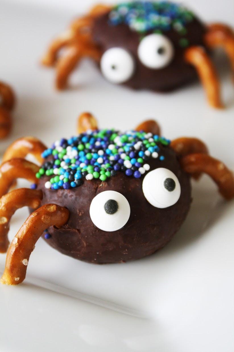 Halloween Donut Spider Treats Catch My Party