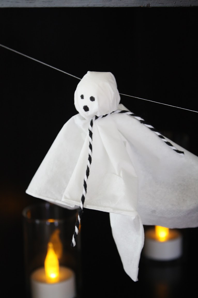 Diy halloween ghost3 - Pin It
