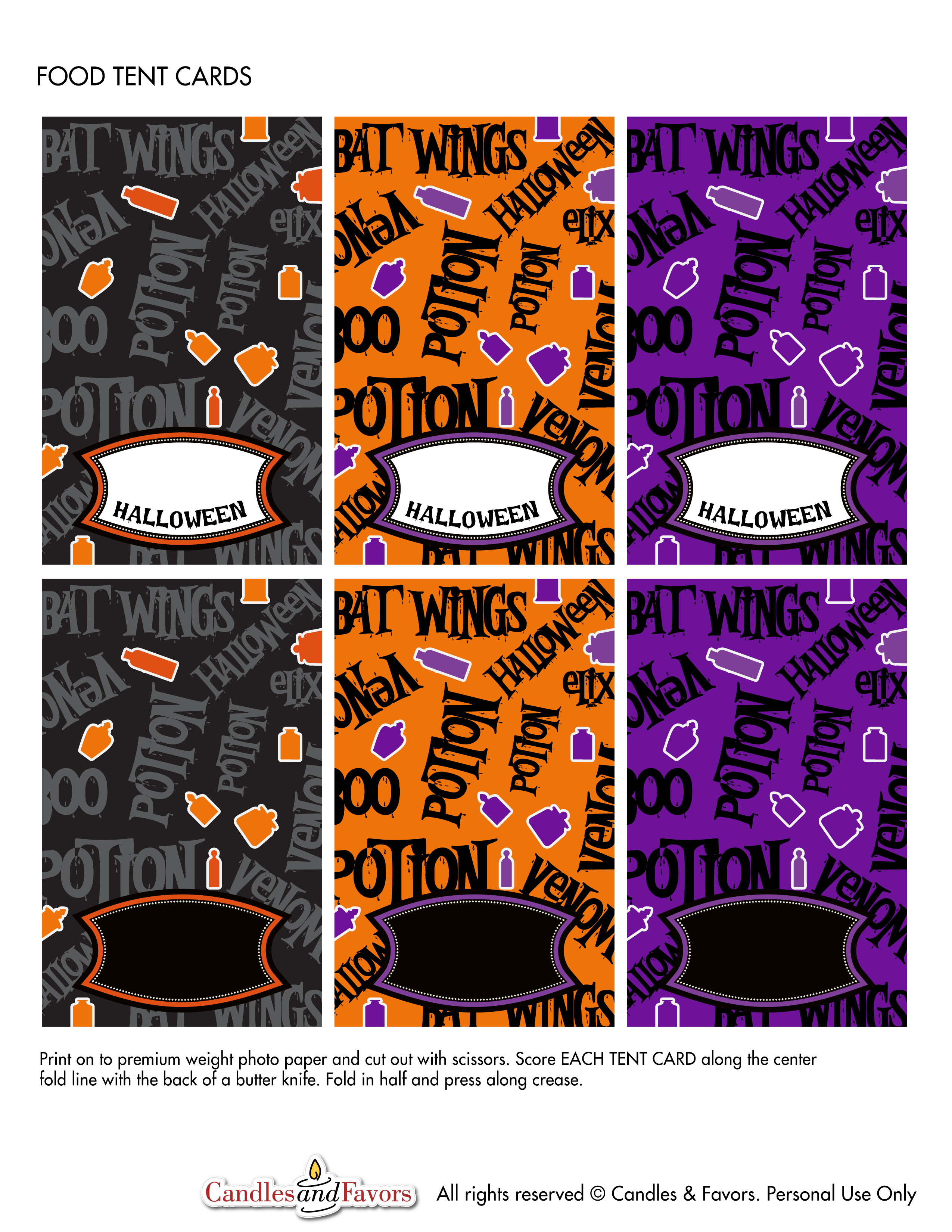 Download the Venom and Potions Free Halloween Party Printables Here!  sc 1 st  Catch My Party & Venom and Potions Free Halloween Party Printables   Catch My Party