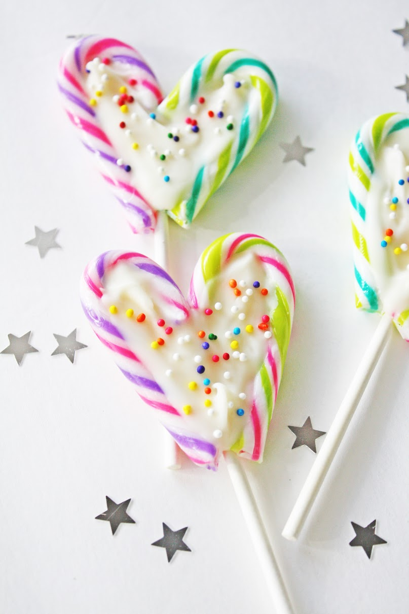 Candy Cane Lollipops Catch My Party