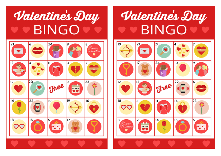 free valentines day bingo game - Valentines Day Game