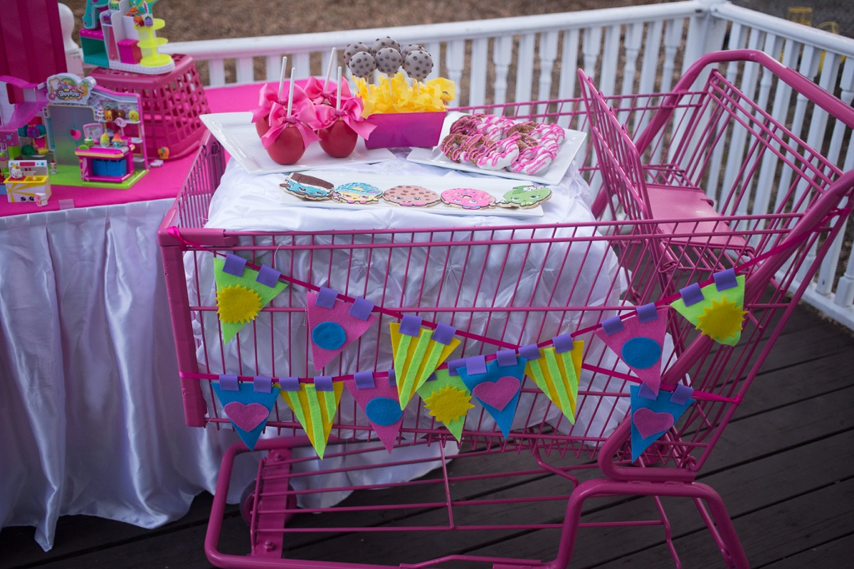 Incredible shopkins party ideas catch my party - Party decorations ideas ...