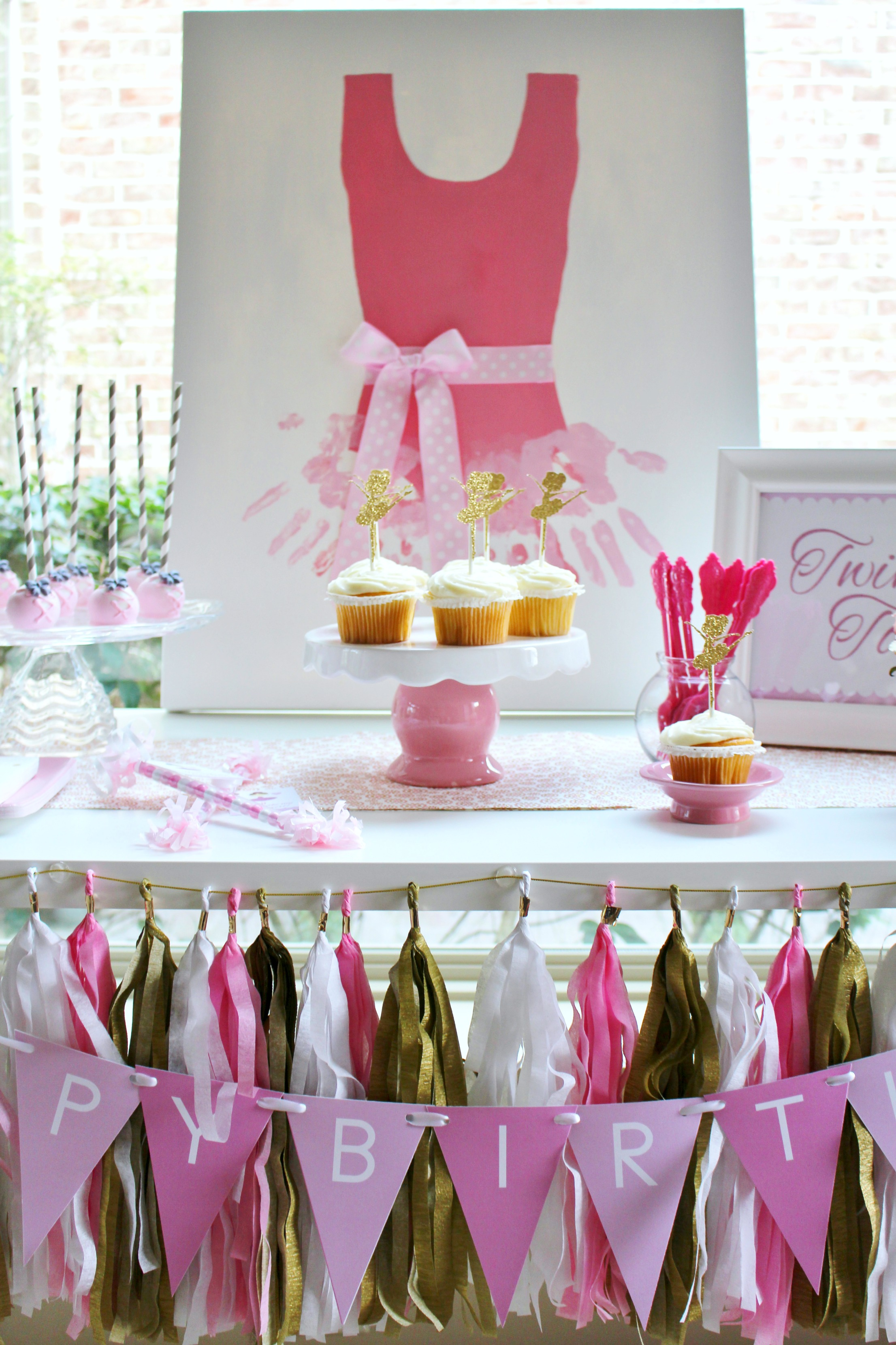 Ballerina Party Ideas Free Printables Catch My