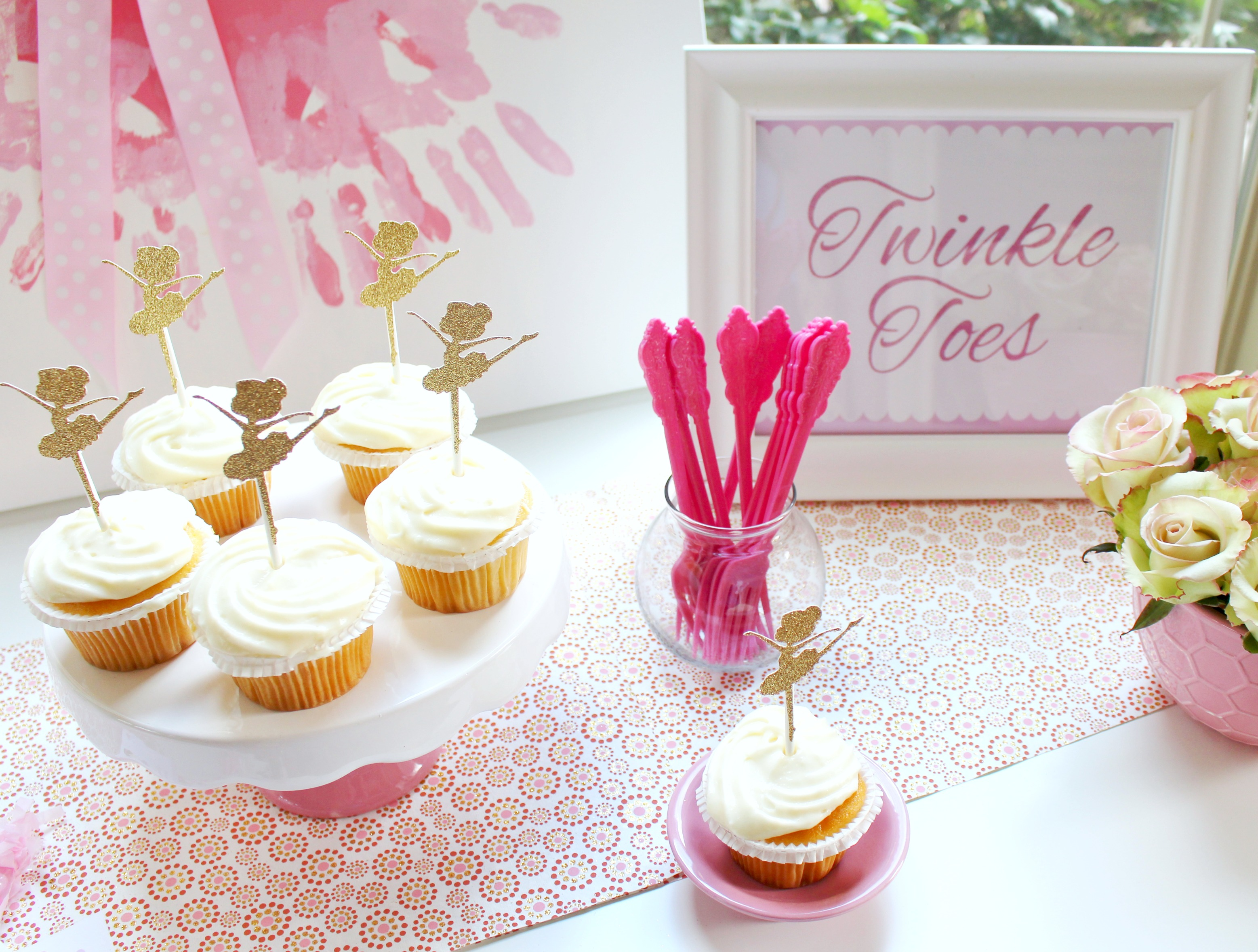 Printable Birthday Decorations Free ~ Ballerina party ideas free printables catch my party