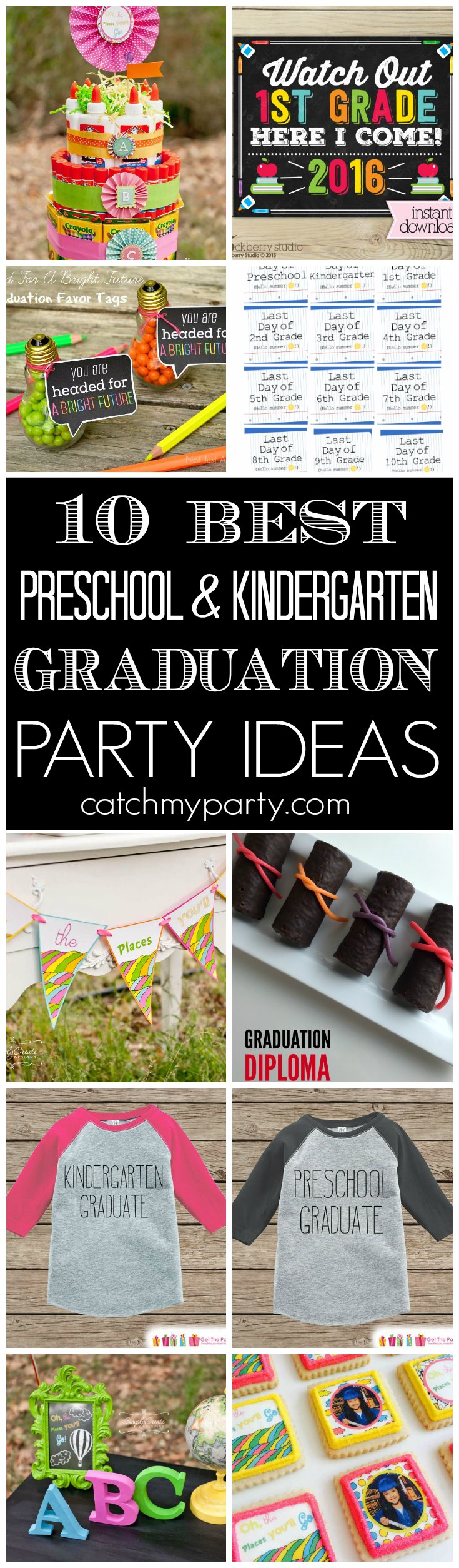 10 Best Preschool & Kindergarten Graduation Party Ideas ...