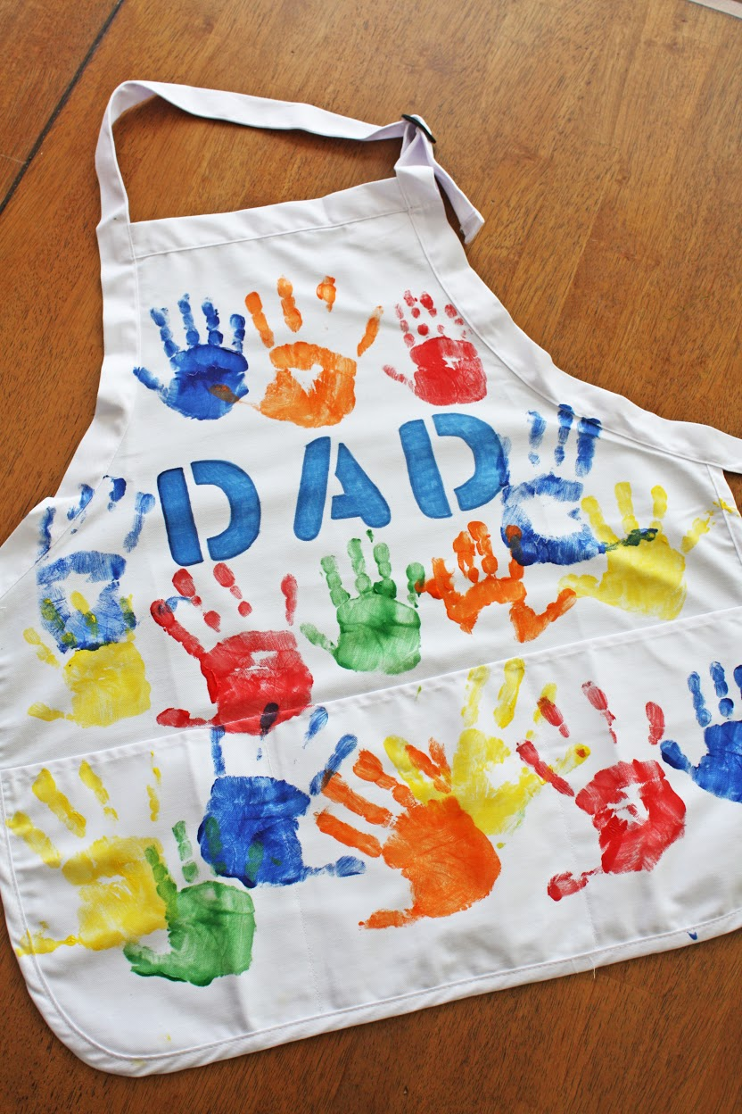 Easy Father S Day Apron Diy Catch My Party