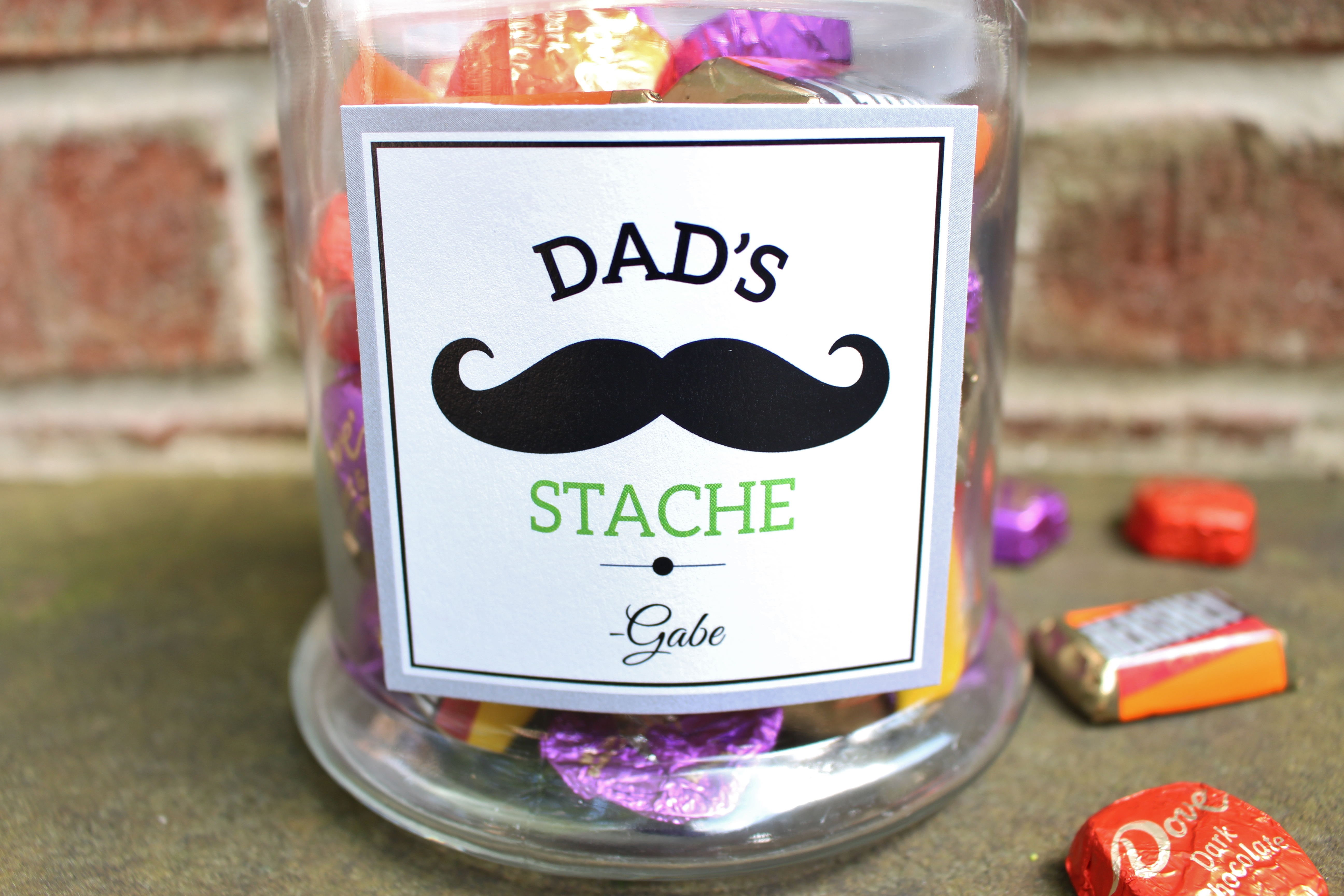 Dad Stache Father S Day Gift Idea Catch My Party