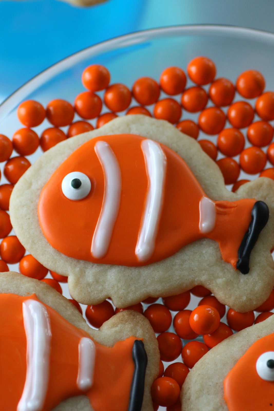 Finding Dory And Finding Nemo Cookies