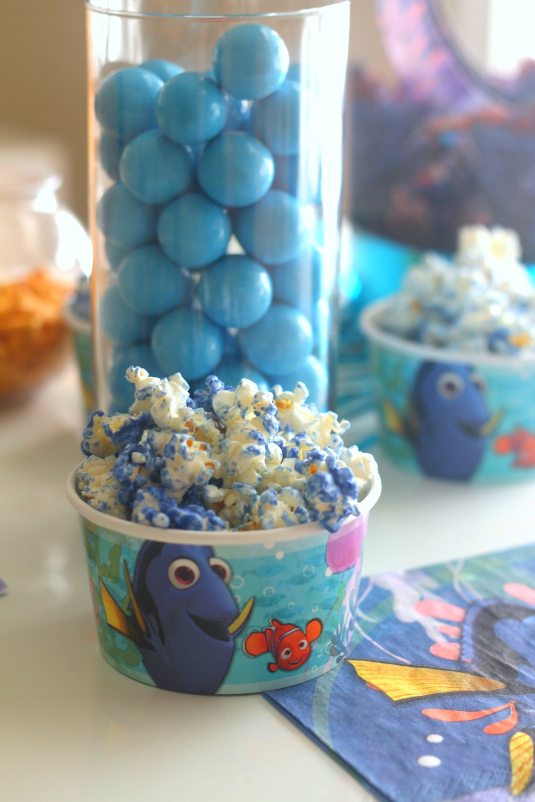 Finding dory party ideas catch my party - Ideas para decorar ...