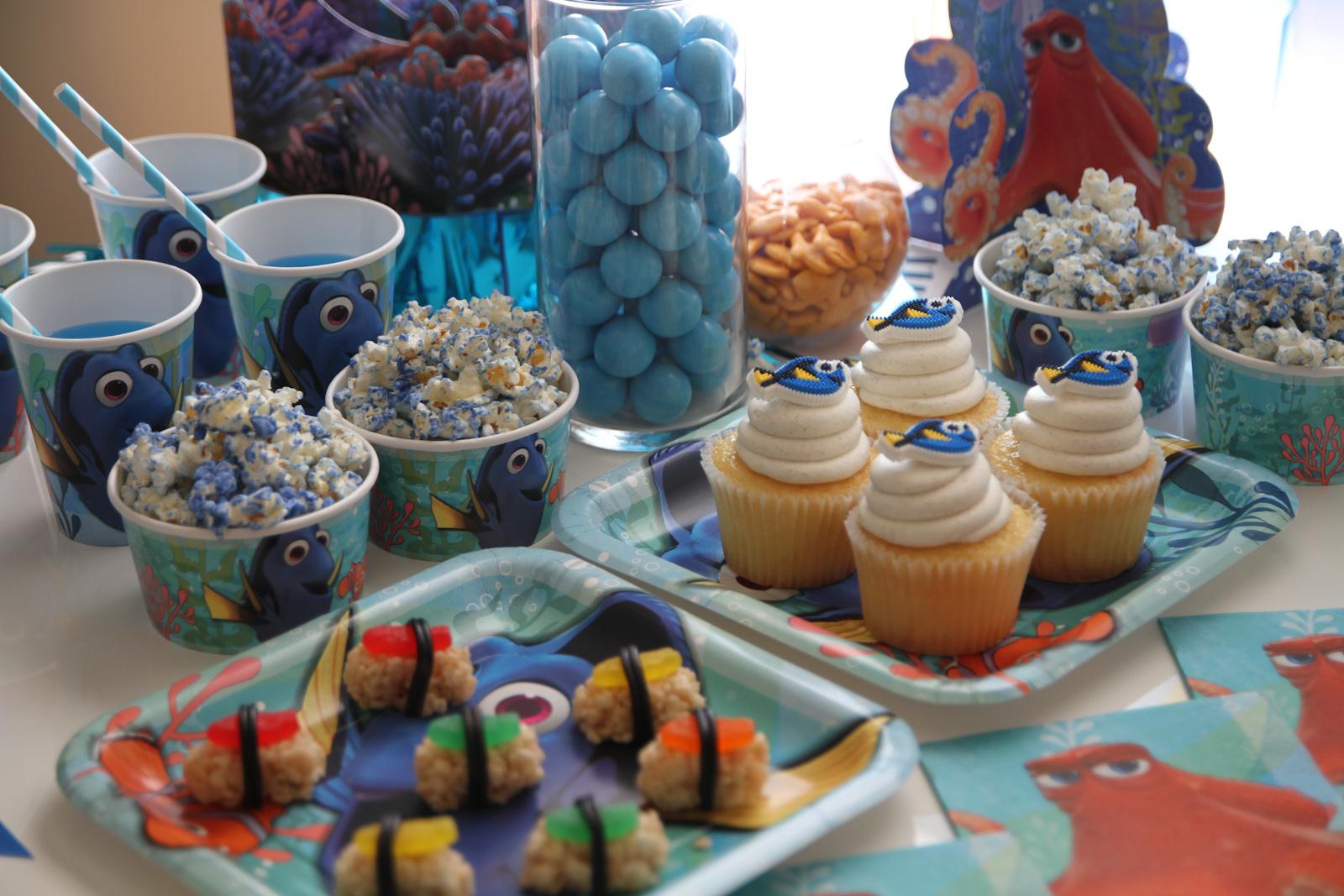 Uncategorized Party Dessert Table Ideas finding dory party ideas catch my ideas