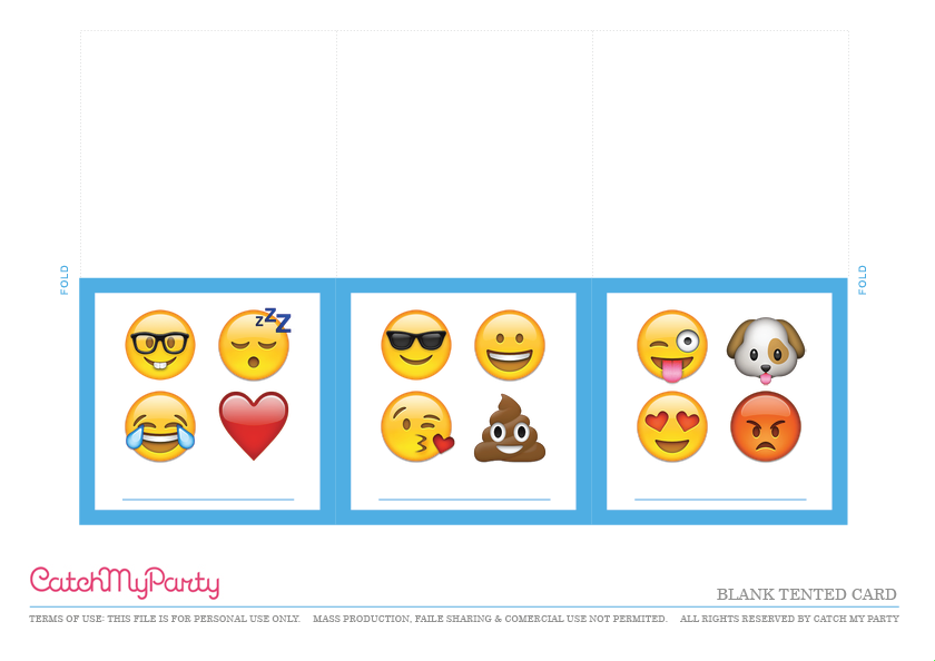 photo relating to Free Printable Emoji B Day Invites referred to as Totally free Emoji Occasion Printables for an Extraordinary Social gathering! Capture My
