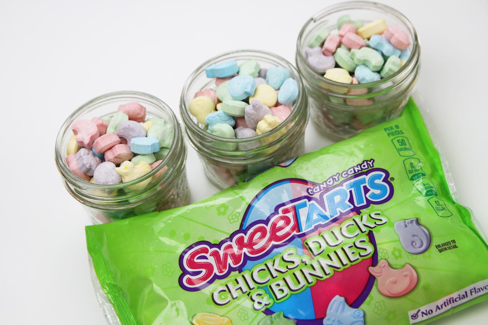 Sweetarts Mason Jar Candy Easter Baskets Diy Catch My Party