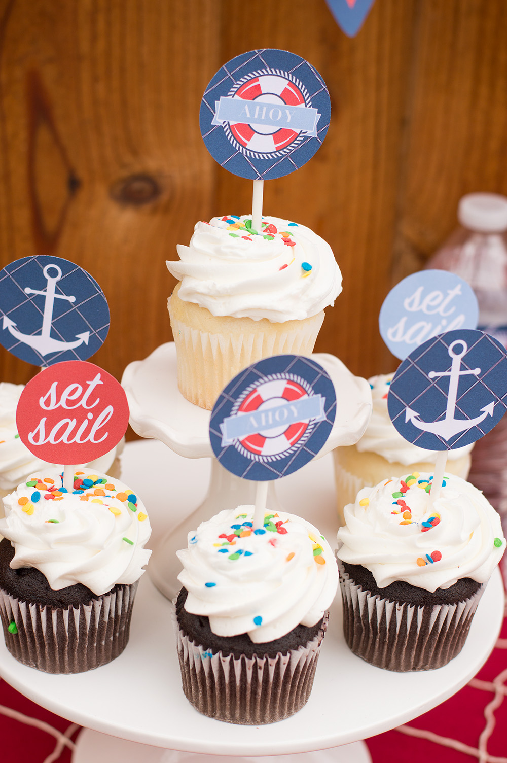 Free Nautical Birthday and Baby Shower Party Printables ...