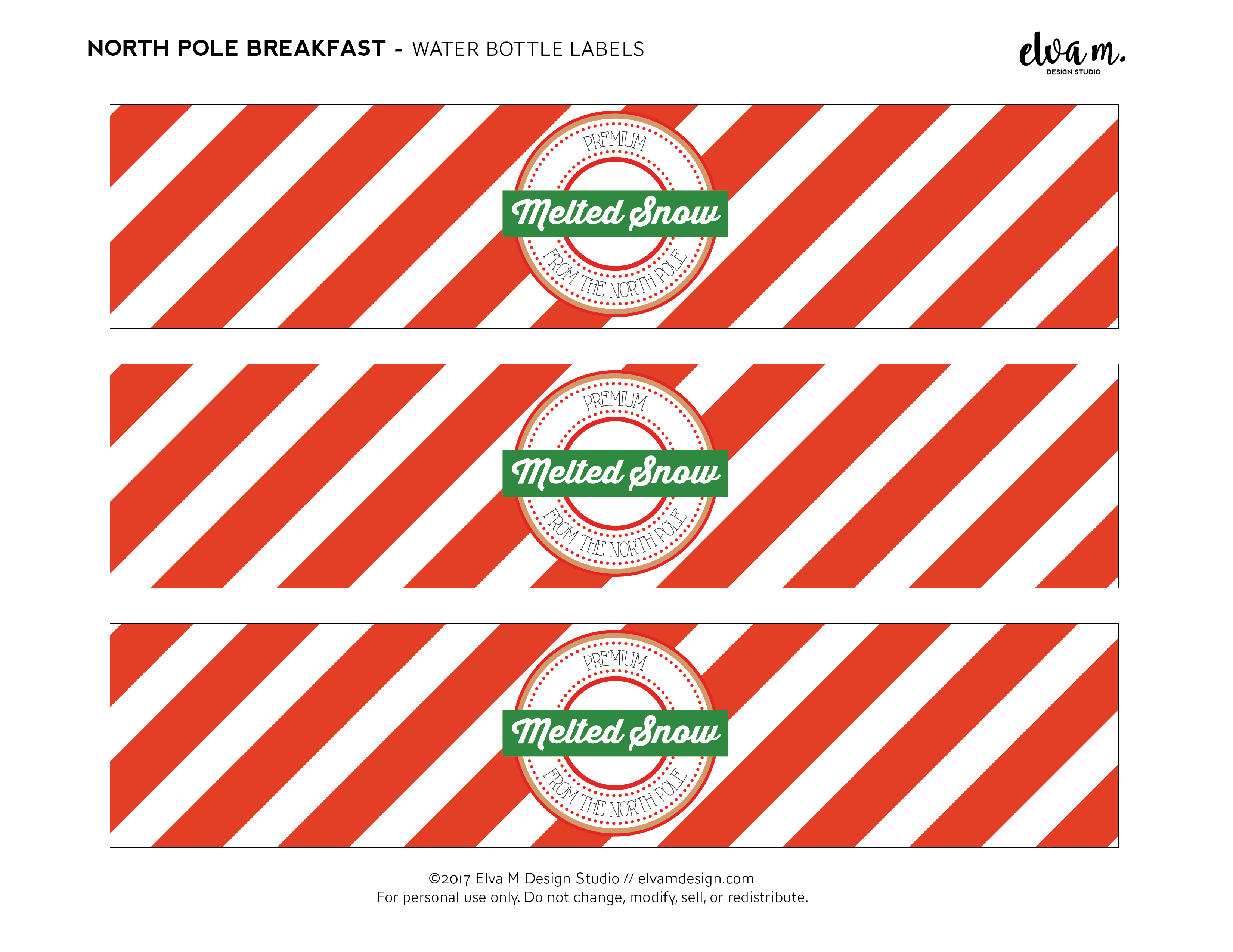 Download These Free Elf on the Shelf North Pole Breakfast ...
